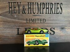 matchbox superfast no.45A-Rare Lime Green Version v.n.mint OVP excellent 1970