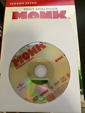 Monk - Season 7, Disc 4 REPLACEMENT DISC (not full season)