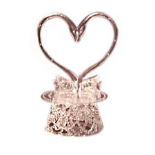 Wedding Cake top stand accessories 2 swans clear