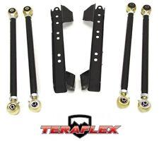 TeraFlex TJ Lower Long FlexArm Control Arm Kit w/ Brackets 97-06 Jeep Wrangler