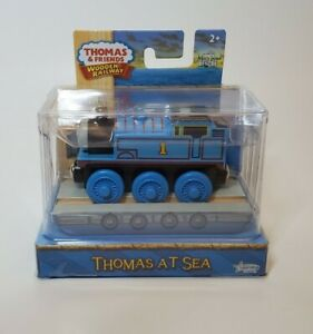 Thomas at Sea on Raft Limited Edition Train Real Wood New Thomas And Friends