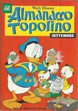 ALMANACCO TOPOLINO 1967 NUMERO 9 + BOLLINO