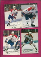 10 X RARE 1982-83 MONTREAL CANADIENS STEINBERG  CARD (INV# 8568)