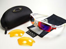 Oakley casi Jacket XL White oo red matriz gafas de sol racing split water Jawbone