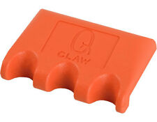 NEW Q-Claw QCLAW Portable Pool/Billiards Cue Stick Holder/Rack- 3-Place Orange