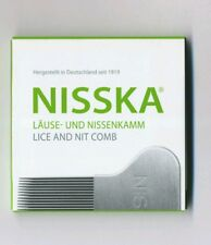 New original NISSKA Comb Lice Nit Stainless Steel Rid Headlice Gold Medal Winner