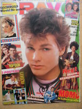 BRAVO 35 - 21.8. 1986 (2) Morton Harket Samantha Fox Bananarama Level 42 Becker