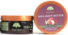 2 Tree Hut Shea Body Butter Lychee Plum Intense Moisturizer Certified Organic 7