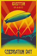 LED ZEPPELIN CELEBRATION DAY POSTER rolled and shrink wrapped 24x36