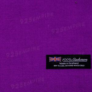Men Women 100% CASHMERE Scarf Warm PLAIN solid Wool SCOTLAND Winter Scarves