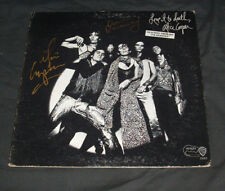 Alice Cooper LP Love it to Death Signed by 3 Proof Alice Dunaway Bruce