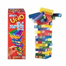 MATTEL Uno Stacko Game The Uno Cube Tells You What To Move! 43535 NEW from Japan