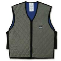 Ergodyne Chill-Its 6665 Large Gray Evaporative Cooling Vest