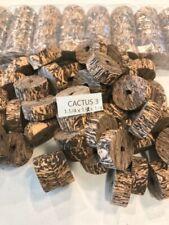 "Cork Rings 12 Cactus Burl #3, 1 1/4"" x 1/2"" x 1/4"" Hole"