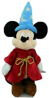 """Disney Store Plush Mickey Mouse Sorcerer Apprentice Wizard 24"""" Tall Doll"""