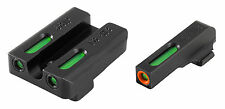 TruGlo TFX Pro Handgun Sights - Glock Low -TG13GL1PC - Orange/Green