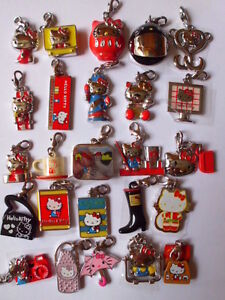 Sanrio 35 Anniversary Hello Kitty Charms Collection Pendant Keychain Collection