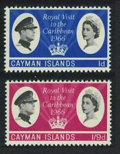 Cayman Is. Royal Visit 2v MNH SG#192-193
