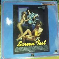 Screen Test Laserdisc-RARE-New in Plastic-Not on DVD!