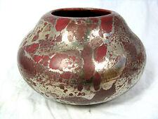 Rara Alexandre Bigot Jugendstil jarrón de cerámica/rare Art Nouveau jarrón Pottery