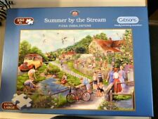 Jigsaw Puzzle, Extra Large pieces (250), Summer By The Stream