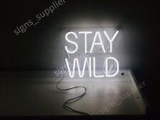 "New Stay Wild Neon Sign Acrylic Gift Light Lamp Bar Wall 14""x10"""