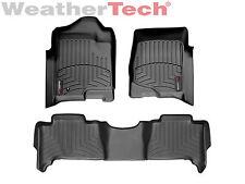 WeatherTech DigitalFit FloorLiner - Chevrolet Tahoe Hybrid - 2007-2014 - Black