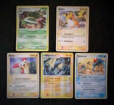 5 POKEMON CARDS - HOLO SHINING