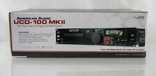 American Audio UCD-100 MKII CD/USB MP3 Player and USB Recorder New