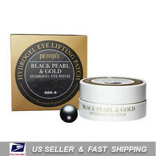 [ PETITFEE ] Black Pearl & Gold Hydrogel Eye Patch 60 Sheet +Free Sample+