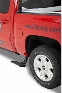 Bestop Trekstep Retractable Side Step For 99-13 Chevy Silverado GMC Sierra