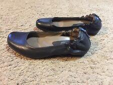 Women's Earthies By Earth Black Tolo Ballet Flats Size 7