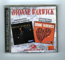 2 CDs ALBUMS ON ONE CD DIONNE WARWICK PRESENTING/ANYONE WHO HAD A HEART