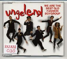 Schauorchester Ungelenk Maxi-CD We Are The Best Old Fashion Boygroup - 4-track