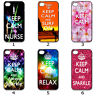 For Designer Phone Hard Case Cover Keep Calm Galaxy Colourful Collection 2