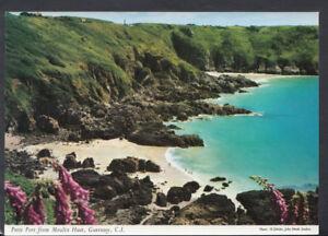 Channel Islands Postcard - Petit Port From Moulin Huet, Guernsey    RR4753
