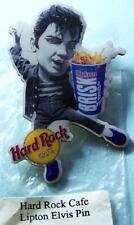 Elvis Presley-NEW Hard Rock Cafe 2001 Lipton Brisk Iced Tea -Limited Edition Pin
