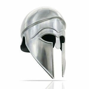 FULL DISPLAY ONLY Greek Corinthian Helmet Medieval Warrior Armor Battle Gear,