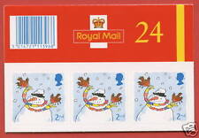 LX22 2001 24 x 2nd Christmas Folded Booklet