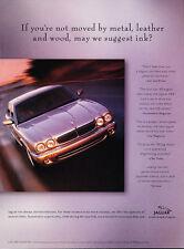 1998 Jaguar Xj8 - Ink - Classic Vintage Advertisement Ad D190