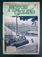 MOTOR CYCLING MAGAZINE 21 JUN 1939 - BMW Norton Beneli DKW Excelsior Calthorpe