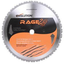 "Evolution Rage 355 14"" 36T Tungsten Carbide Tipped Multi-Purpose Chop Saw Blade"