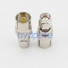 TV female jack to SMA male plug Straight RF connector Adapter for Antenna