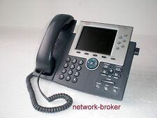 Cisco cp-7965g 7965 IP Phone VoIP examinado teléfono