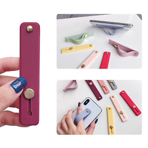 Phone Grip Holder Portable Finger Strap Bracket Kickstand For Smartphone Charms