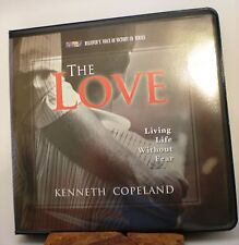 "Kenneth Copeland ""The Love, Living Life Without Fear"" 5 CD Pack ~ BVOV Series"