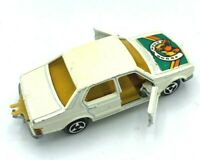 MAJORETTE #256 BMW 7 SERIES 733 WHITE WITH HORSE DECAL / FRANCE / VNM / LOOSE