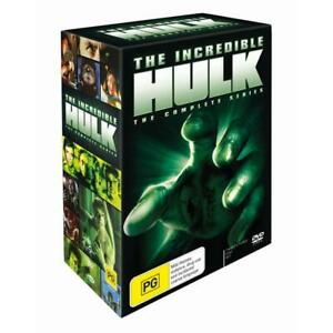 THE INCREDIBLE HULK COMPLETE SERIES DVD, NEW BUT DAMAGED, FREE POST.