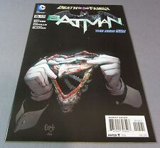 BATMAN #15 The New 52 (Greg Capullo 1:25 Variant, Joker Mask) Unread NM- 2013 DC