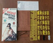 Vintage 1975 Word Master Mind Board Game 100% Complete Invicta Improved Version